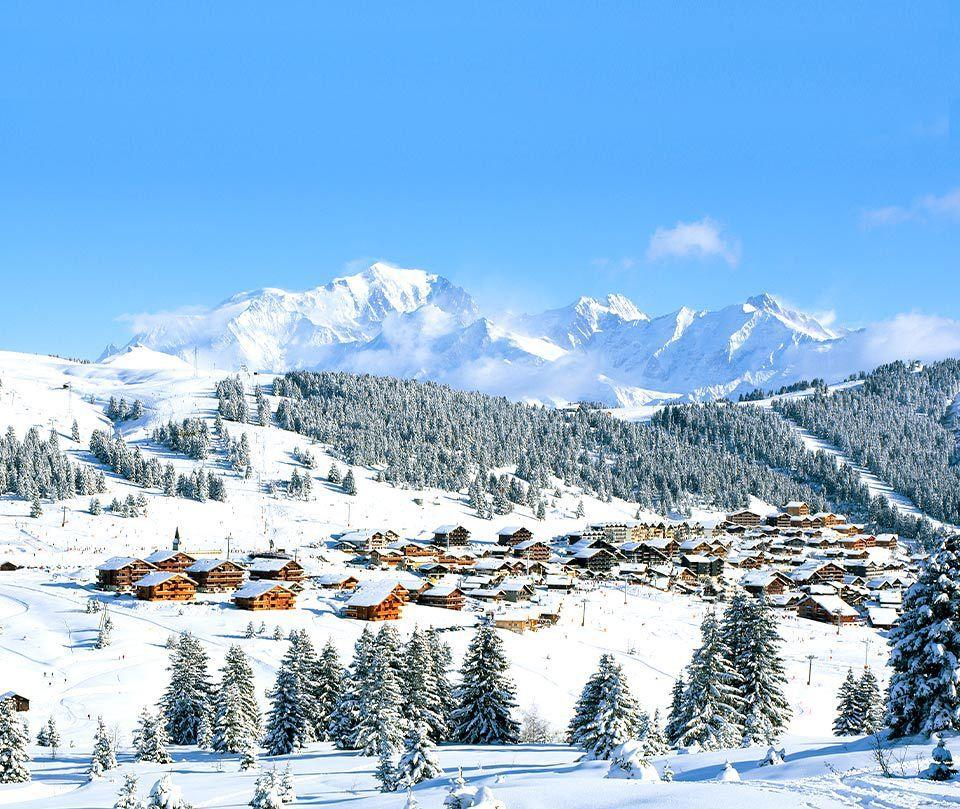 Votre appartement face au Mont Blanc