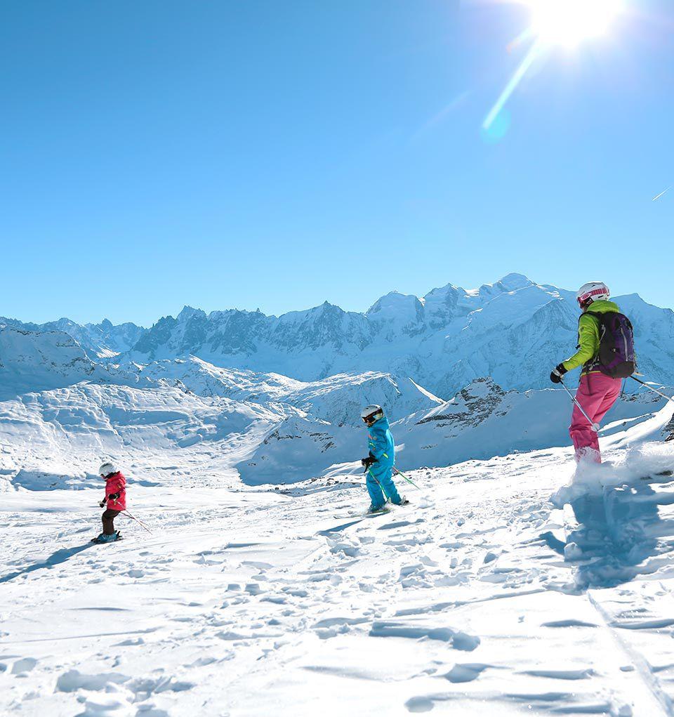 Un station de ski pour tous niveaux