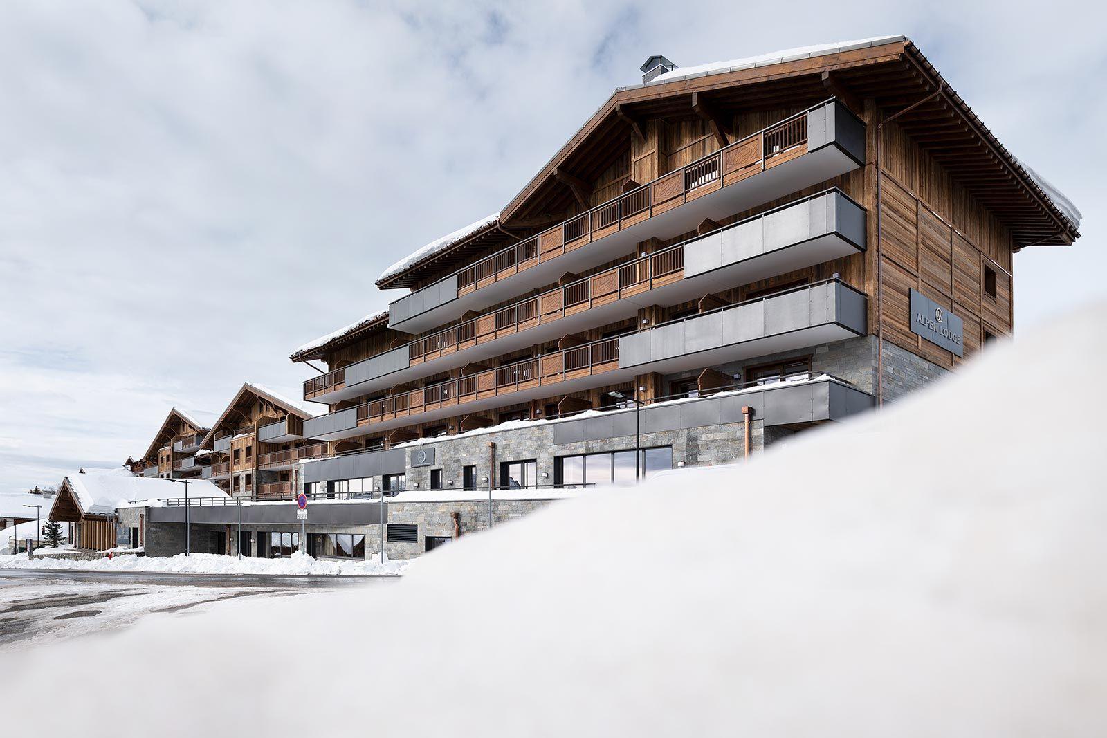 Alpen Lodge - La Rosière - Extérieur