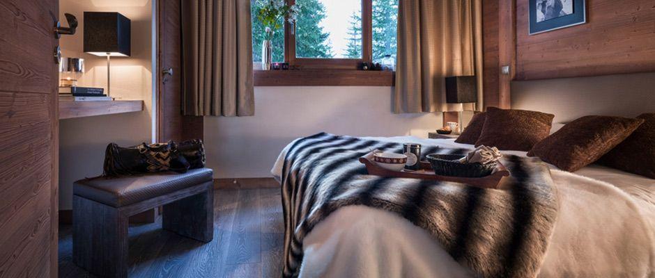 La chambre de l'appartement - Le Centaure à Flaine