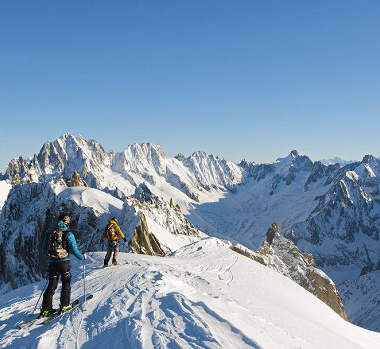 Chamonix la Vallée Blanche - Vignette