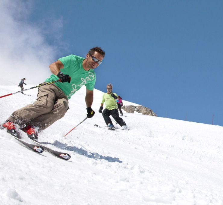 VTT et ski d'été à Tignes - Vignette