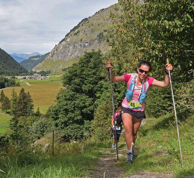 Champagny Trail du Grand Bec