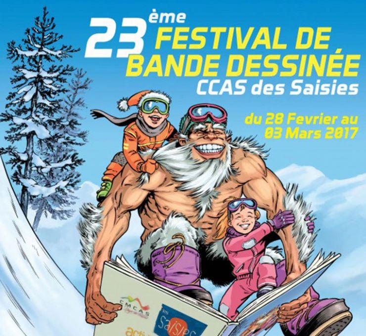 Festival de la Bande Dessinée des Saisies 2017 - Vignette