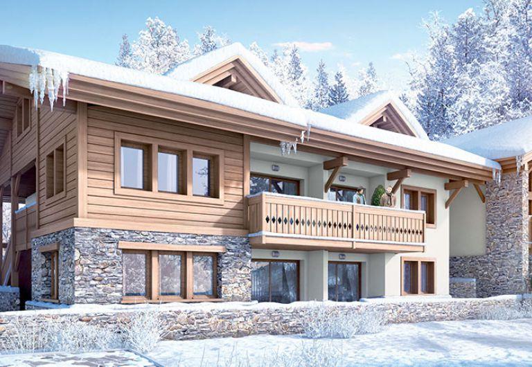 Vente appartement à Chamonix - Perspective