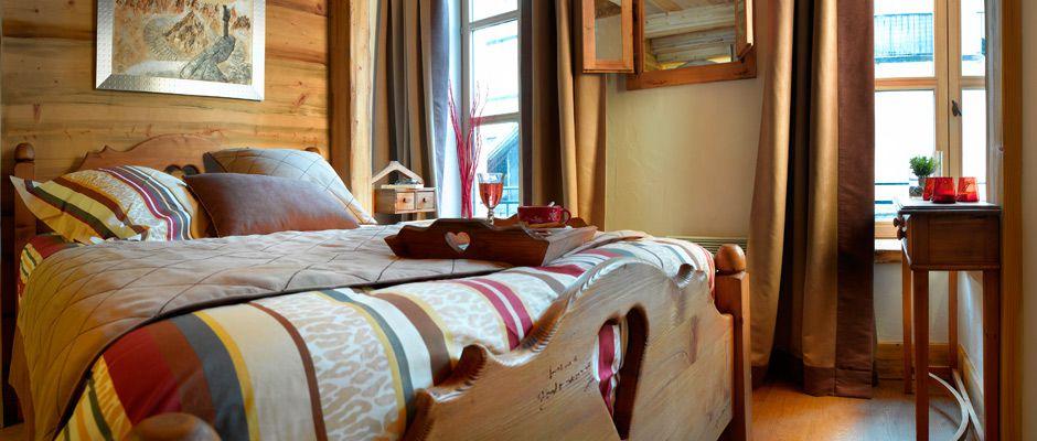 La chambre de l'appartement - Le Savoy