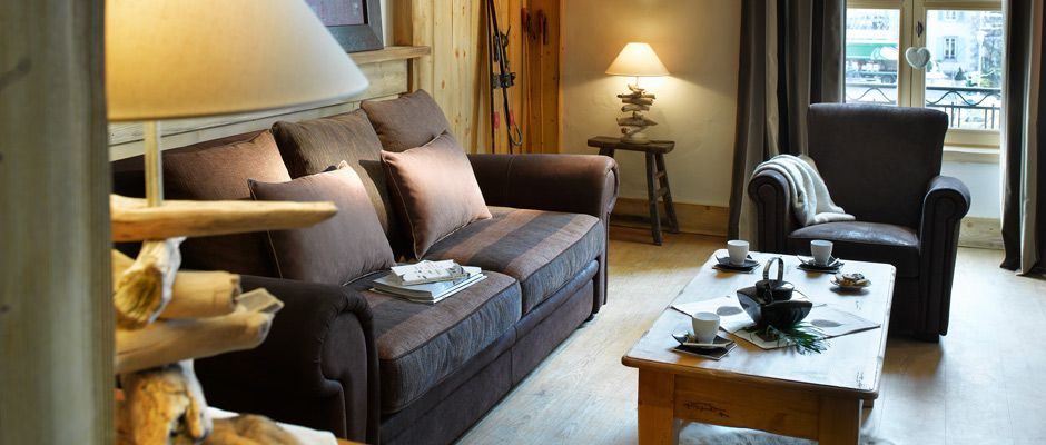 Le salon de l'appartement - Le Savoy
