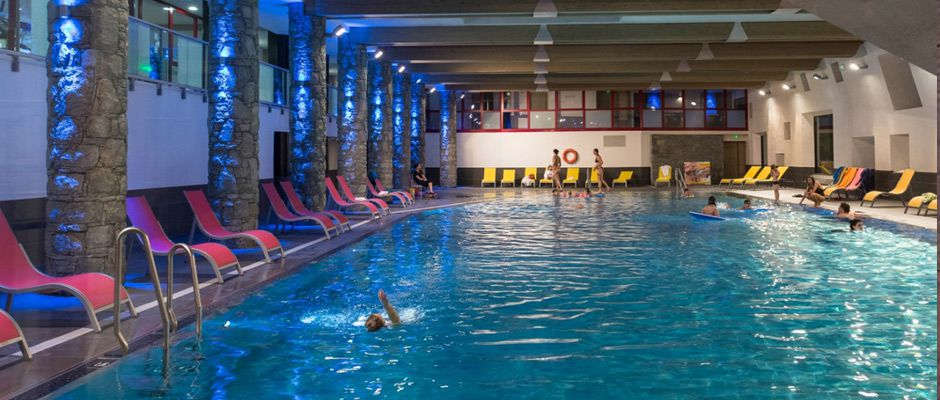 La piscine de la résidence - Le Centaure à Flaine