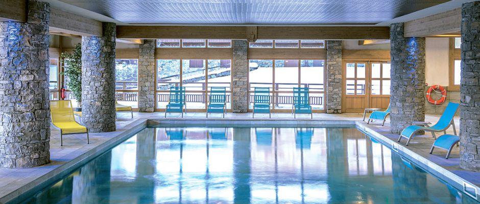 La piscine de la résidence - La Grange aux Fées à Valmorel