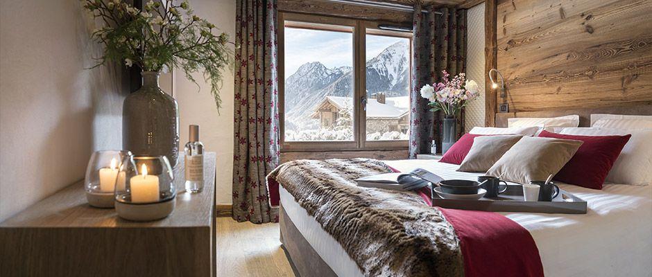 La chambre de l'appartement - Villa de Jade