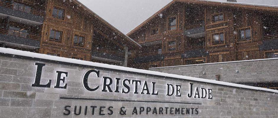 Extérieur de la résidence - Le Cristal de Jade à Chamonix