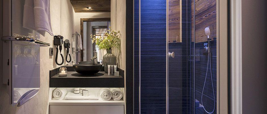 La salle de bain de l'appartement - Villa de Jade