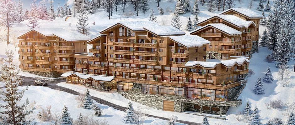Perspective de la résidence - Le Lodge des Neiges à Tignes
