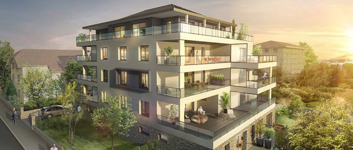 achat appartement annecy villa m a mgm constructeur. Black Bedroom Furniture Sets. Home Design Ideas