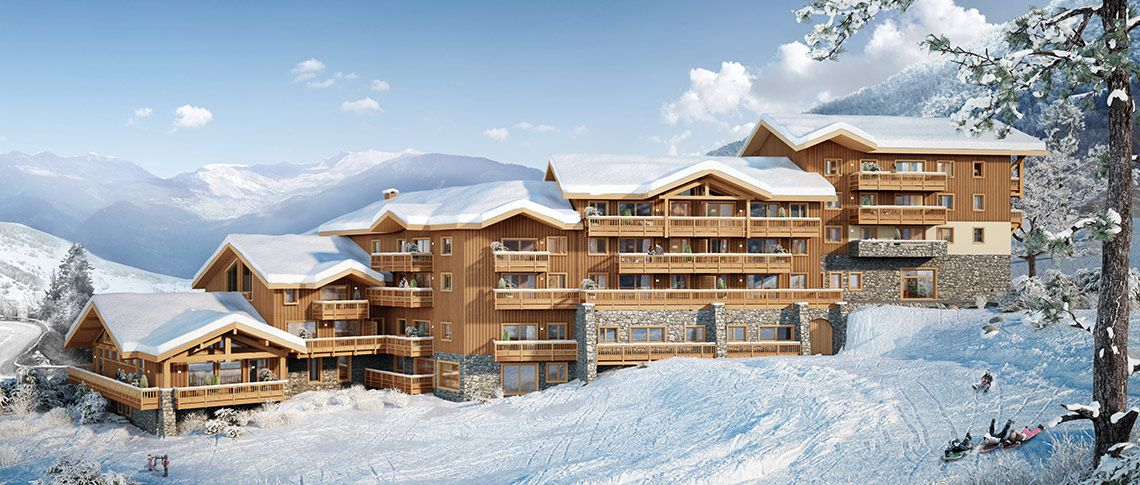 Achat immobilier valmorel r sidence anit a mgm for Piscine valmorel