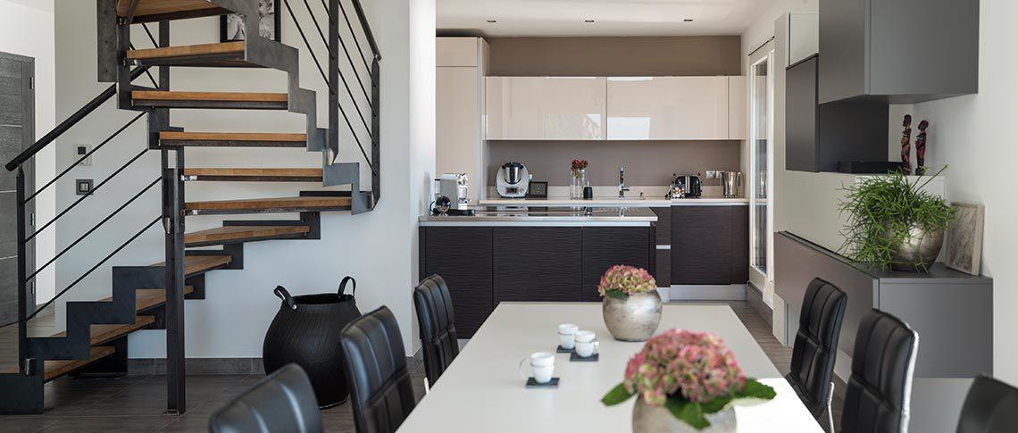 Intérieur cuisine Villa Sienna - Appartements en vente à Annecy