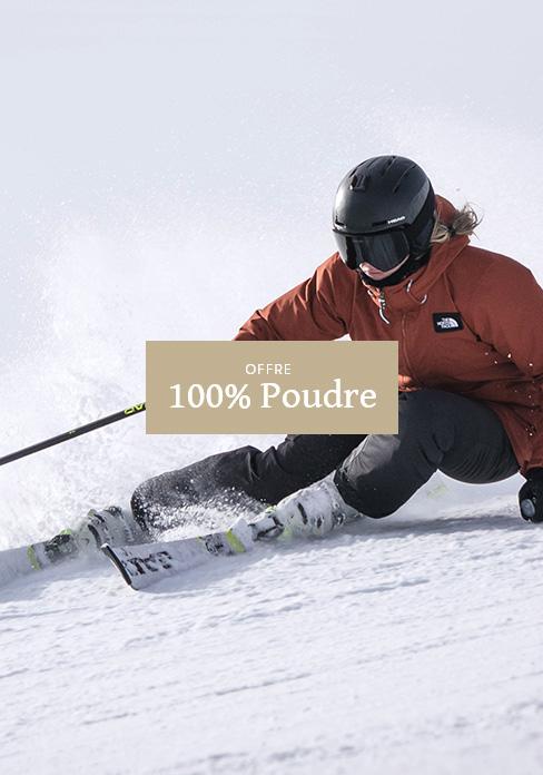 Offre 100% Poudre Forfait + hébergement | MGM Hôtels & Résidences