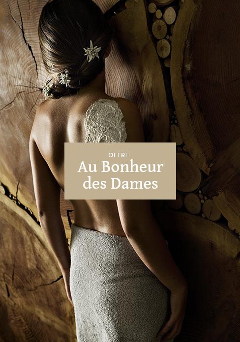 Offre au Bonheur des Dames Soins + hébergement | MGM Hôtels & Résidences