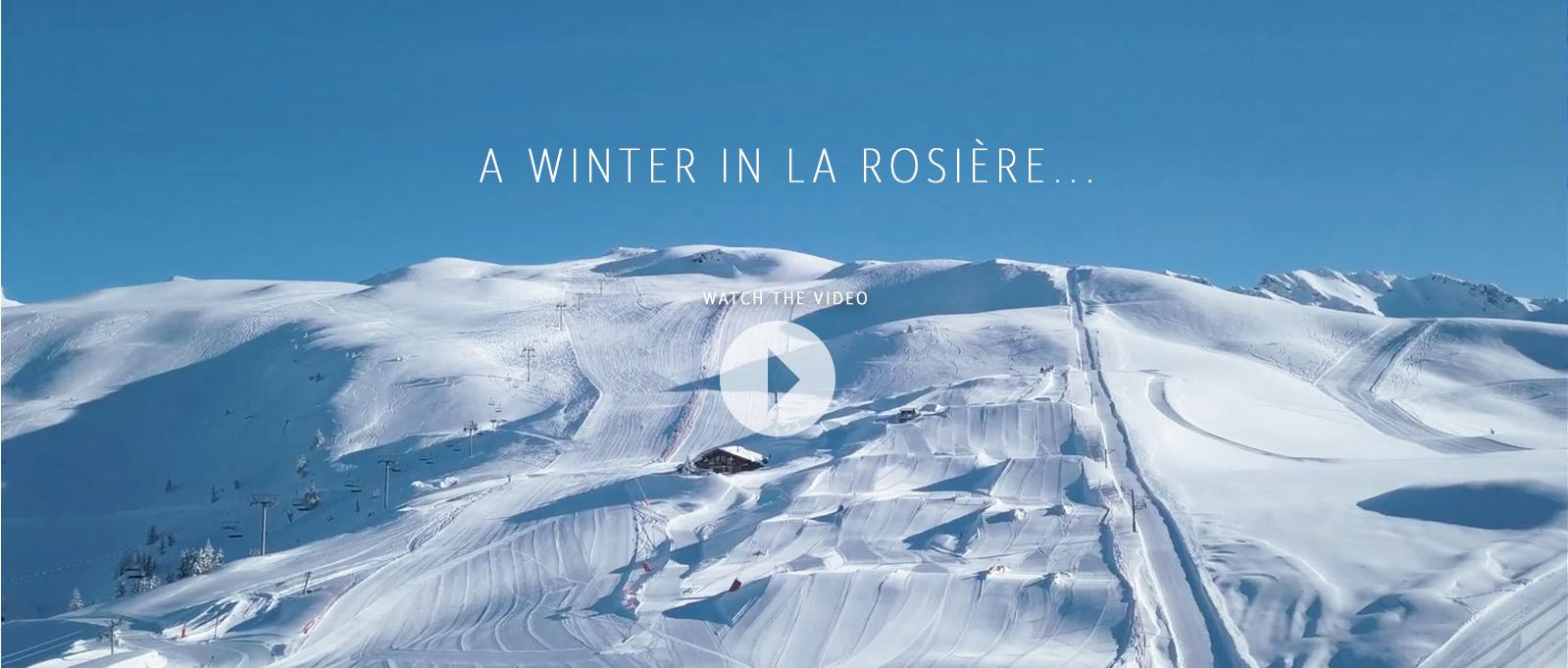 La Rosière Video