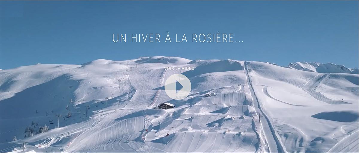 Vidéo destination La Rosière